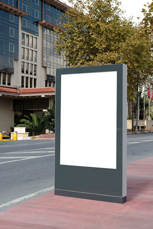 Street Advertising - Making the Audience Come to You