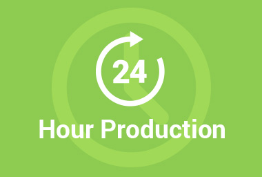 24 Hour Production Time