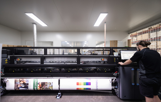 HP Latex 3200 printers provide the highest quality full colour prints!