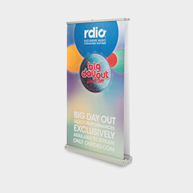 Double Sided Pull Up Banners