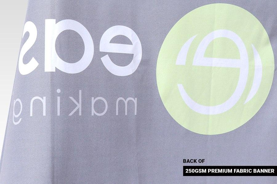 Premium Fabric Banner - Back