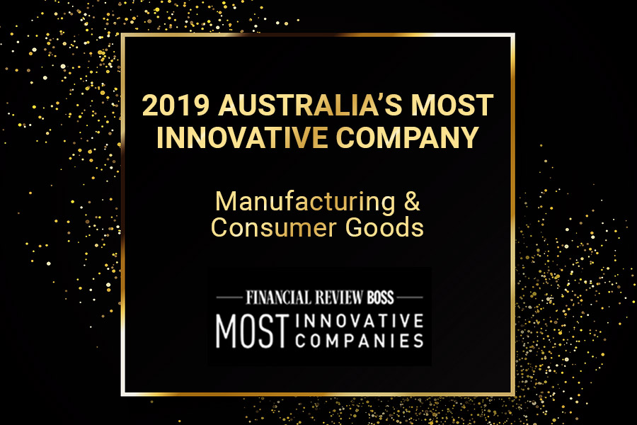 Easy Signs Wins AFR BOSS Most Innovative Manufacturing Company 2019