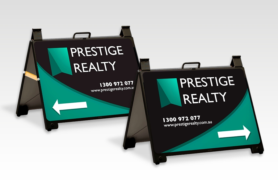 Enduro Signs for Real Estate Signage