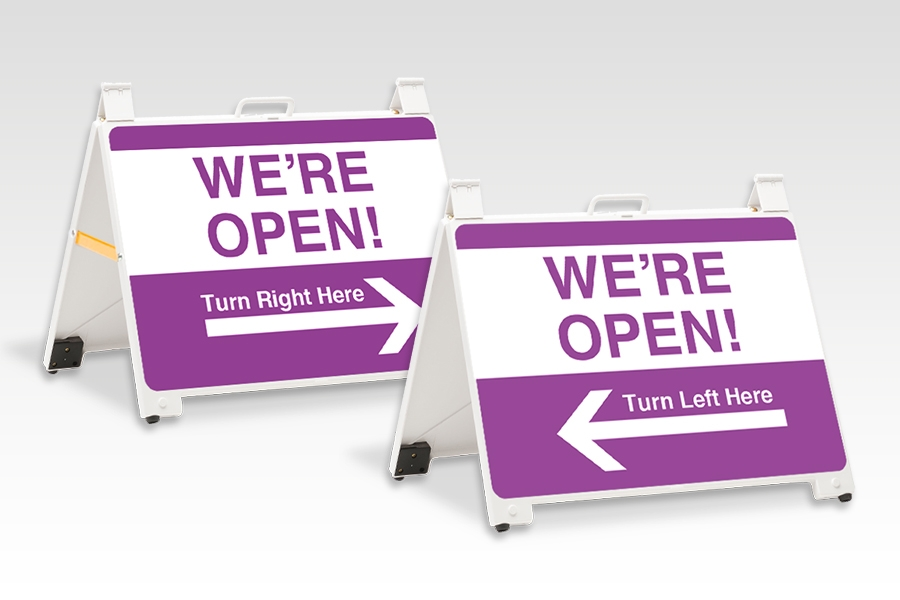 Enduro Signs for Directional Signage