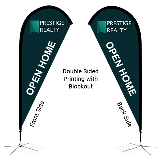 Single Sided vs Double Sided Flag Printing