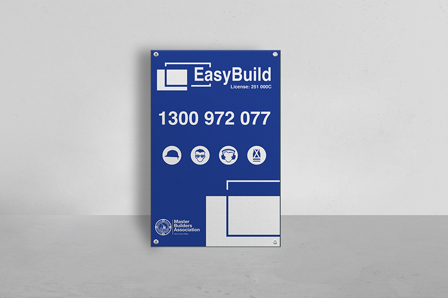 Corflute® Rectangular Sign