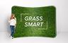 Curved Stretch Fabric Media Wall - 3000mm W x 2200mm H