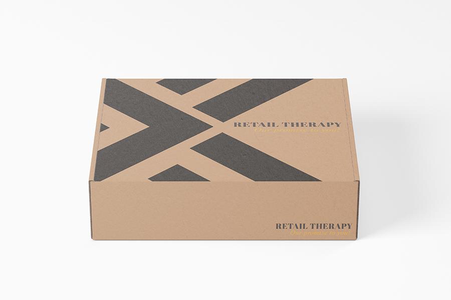 Kraft E Custom Printed Mailer Box - 360mm W x 305mm D x 105mm H