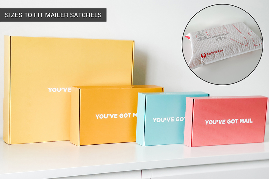 Our Range Of Box Sizes For Mailer Satchels