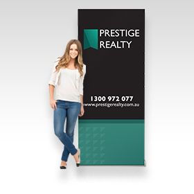 Frameless Pull Up Banners
