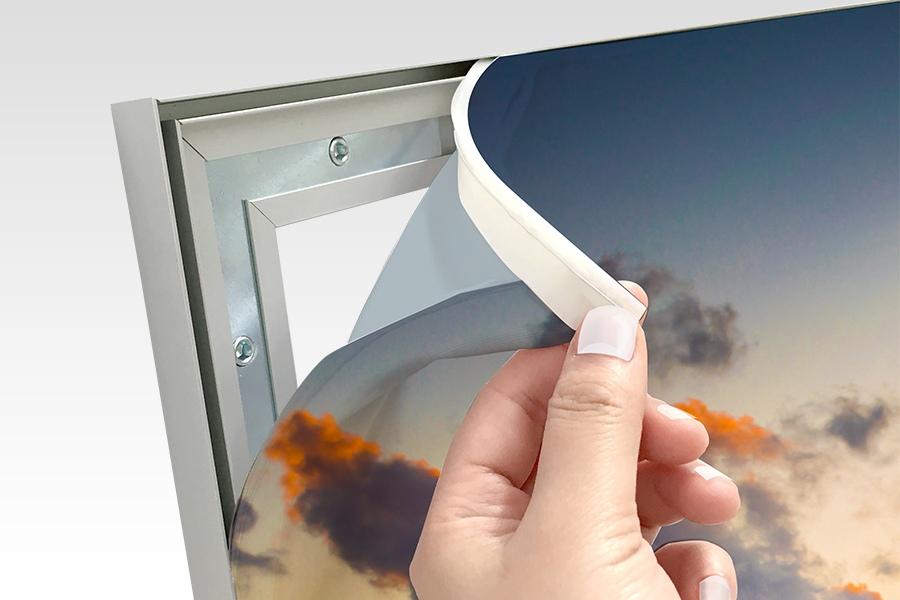 EasySeg Fabric Frame Silicone Edge