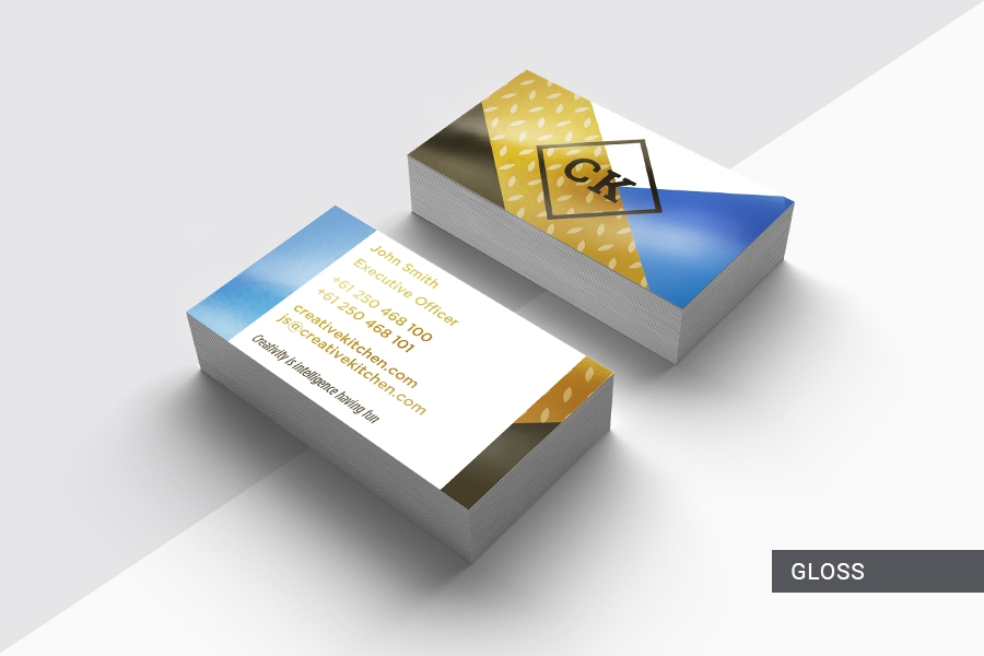 360gsm Premium Full Colour Double Sided Business Cards with Gloss Lamination