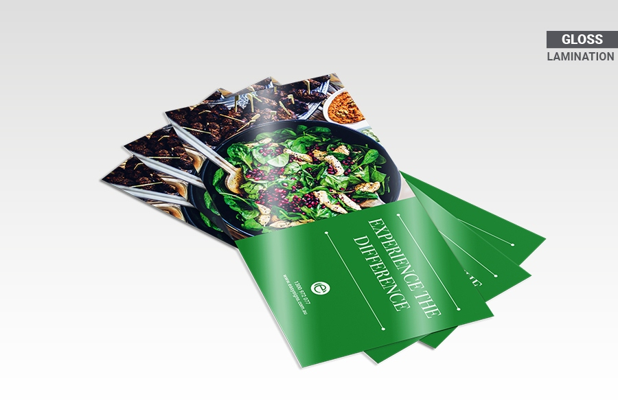 DL Flyers with Gloss Lamination