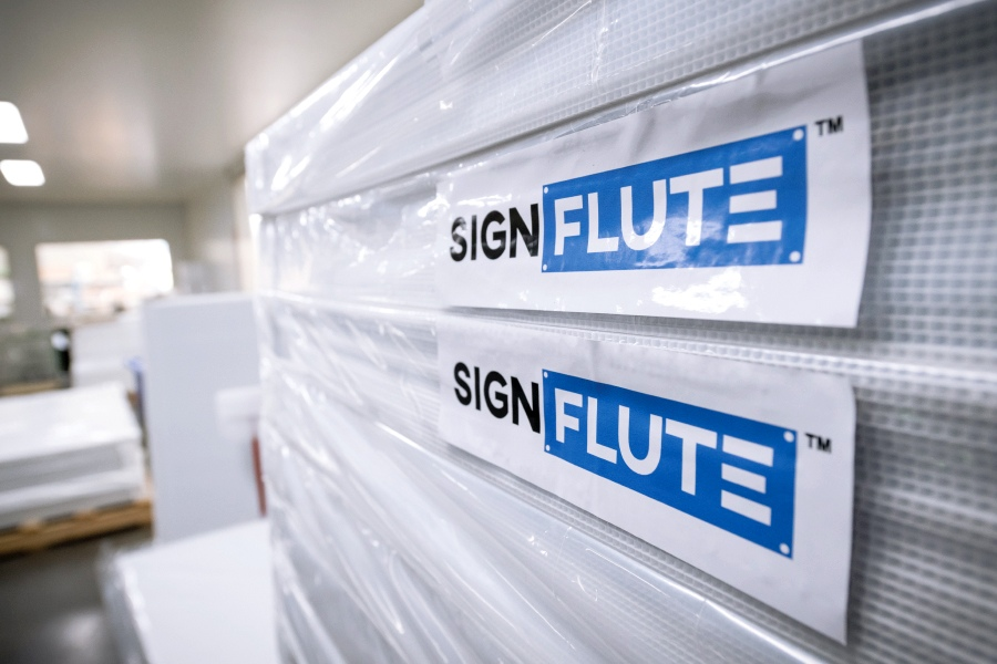 Signflute™ Corrugated Plastic Signs