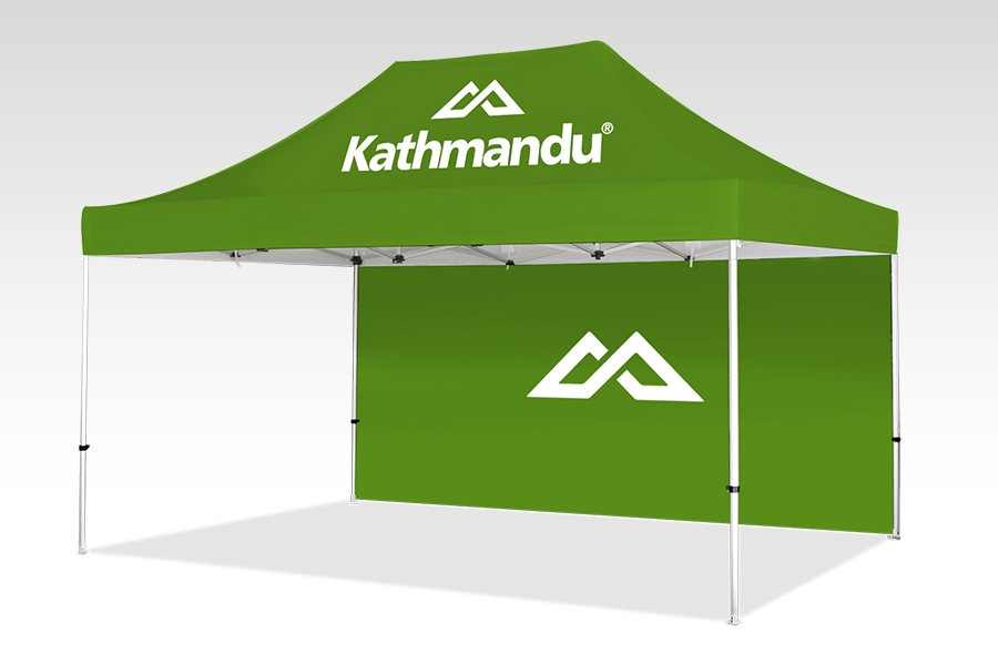 Pop Up Gazebo with Printed Canopy and Walls (4.5m x 3m)