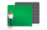 Green Screen Chroma Key Backdrop - 2440mm W x 2210mm H