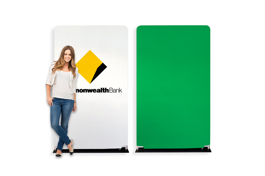 Green Screen Chroma Key Backdrop - 1200mm W x 2000mm H