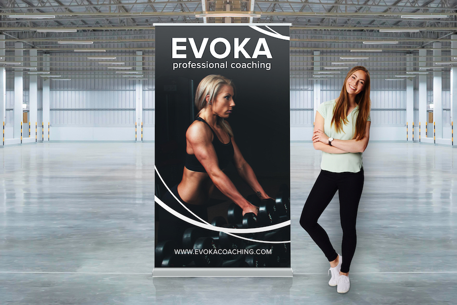 Luxury Pull Up Banner - 1200mm W x 2000mm H