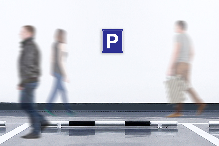 Parking Sign - 500mm W x 500mm H