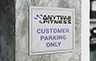 Parking Sign - Custom H  - Custom W
