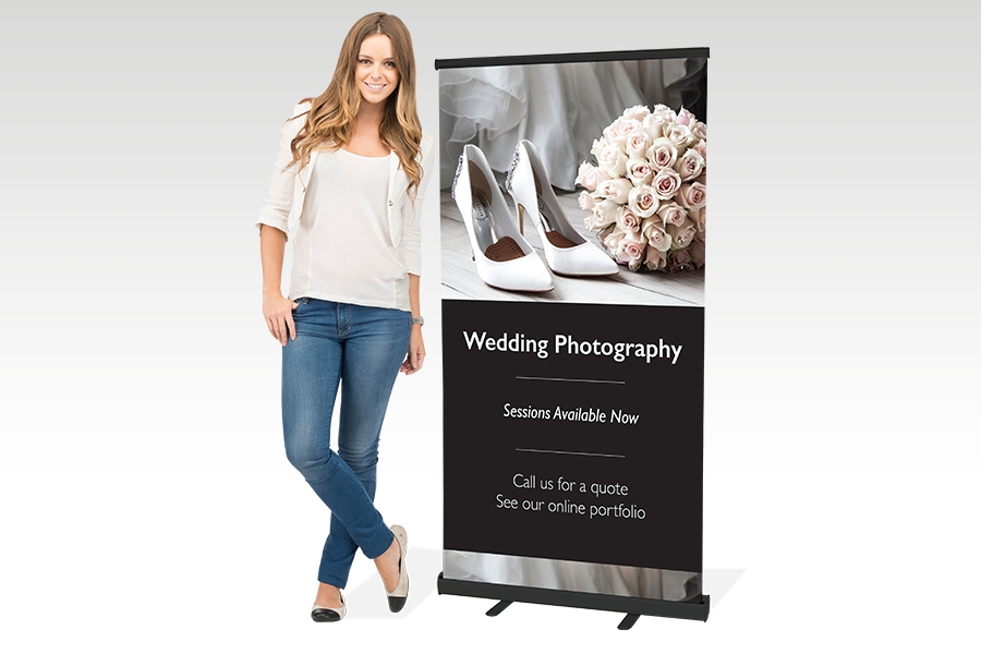 Premium Pull Up Banner - 850mm W x 1500mm H