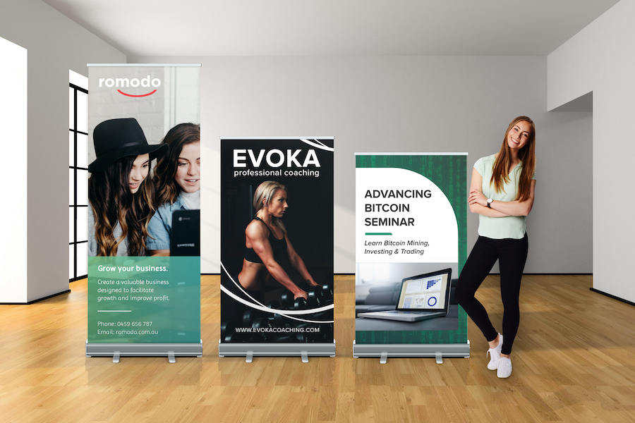 Premium Pull Up Banner - All Sizes