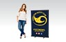 Premium Pull Up Banner - 850mm W x Shopping Centre H