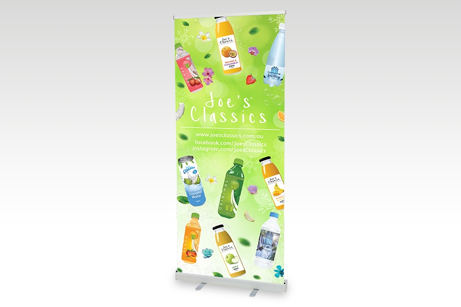 Premium Pull Up Banner- 850mm W x 2000mm H