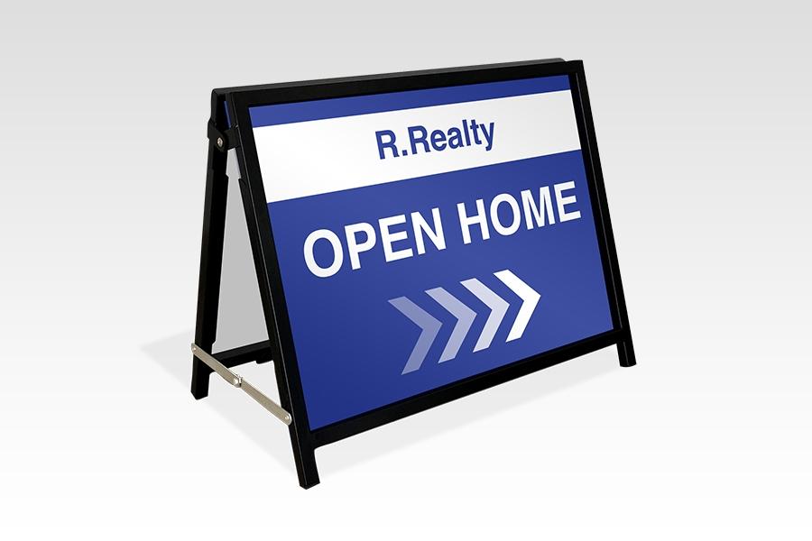 Black Real Estate A-Frame