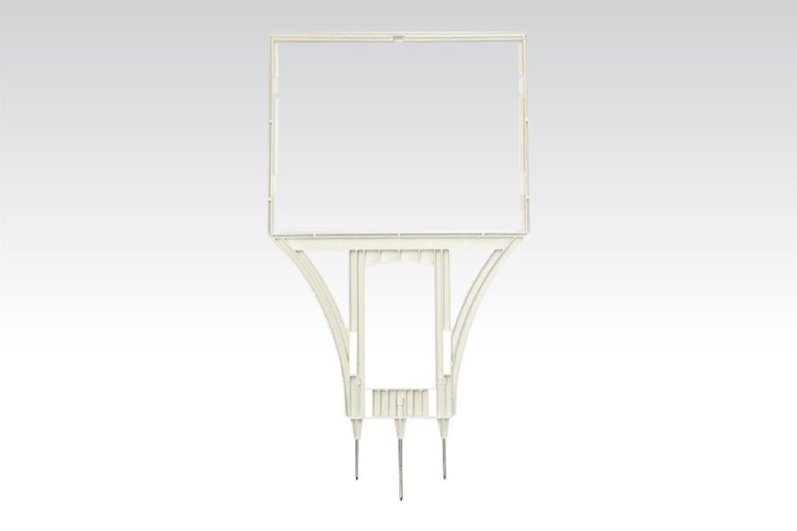 Realframe Sign Holders - White