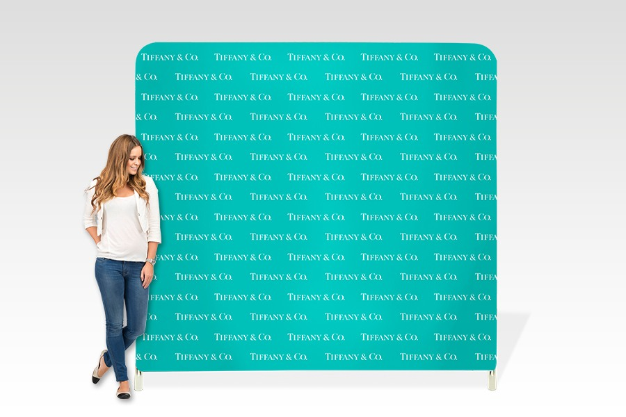 Stretch Fabric Media Wall Frame for Product Promotion