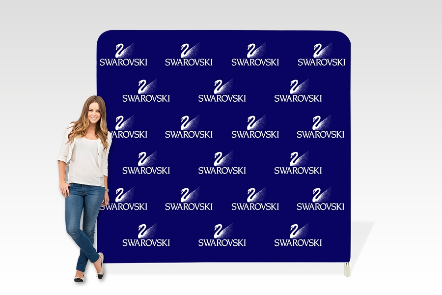 Stretch Fabric Media Wall Frame for Retail