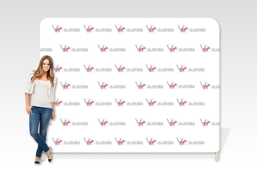 Stretch Fabric Media Wall Frame for Brands