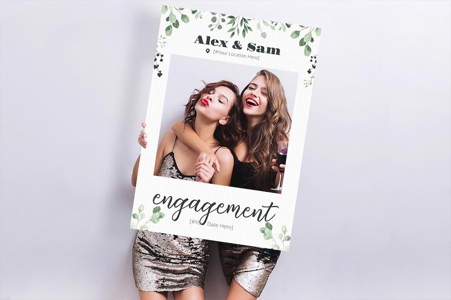 Selfie Frame : Engagement