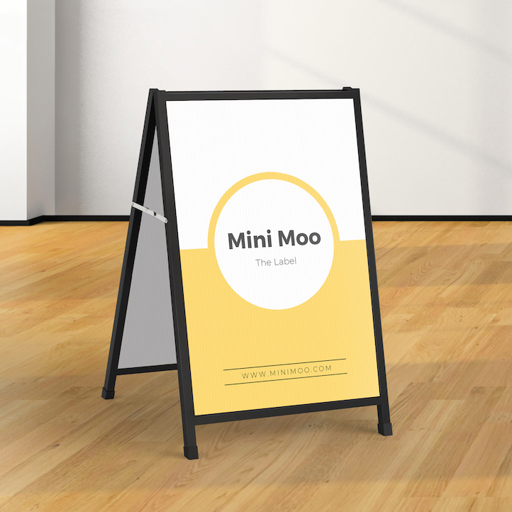Signflute™ Insertable A-Frame Sandwich Boards