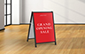 Signflute™ Insertable A-Frame Sandwich Board