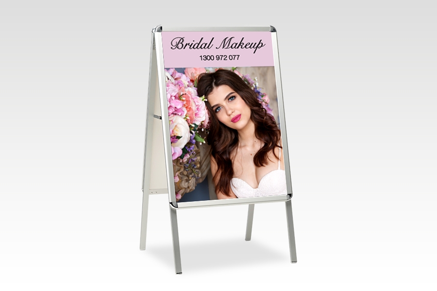 Changeable Snap A-frame Sandwich board