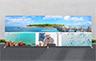 Straight Stretch Fabric Media Wall - 6000mm W x 2200mm H