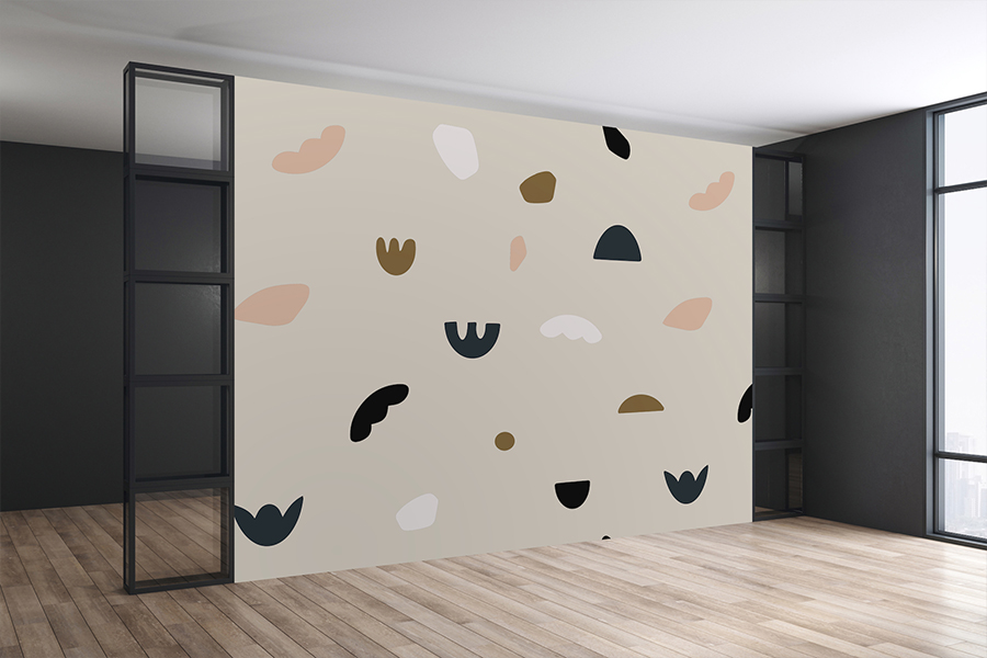 Wall Mural for Interior Space