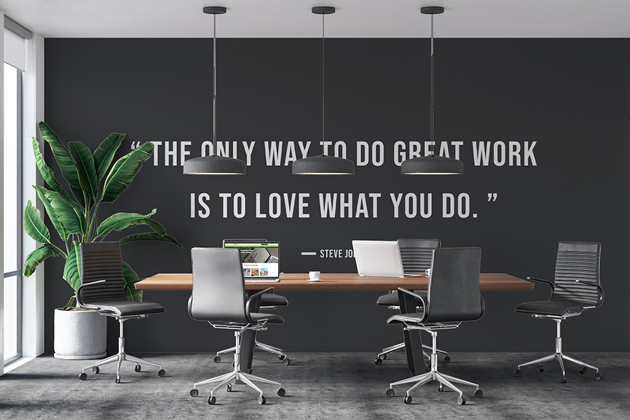 Wall Mural for the Office