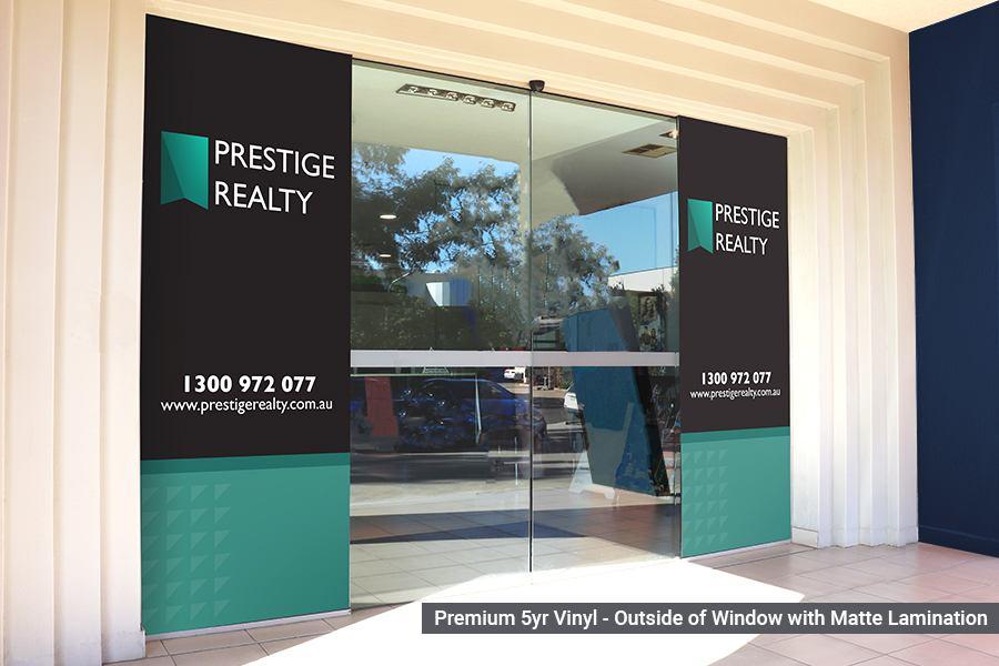 Premium Window Graphics for Real Estate