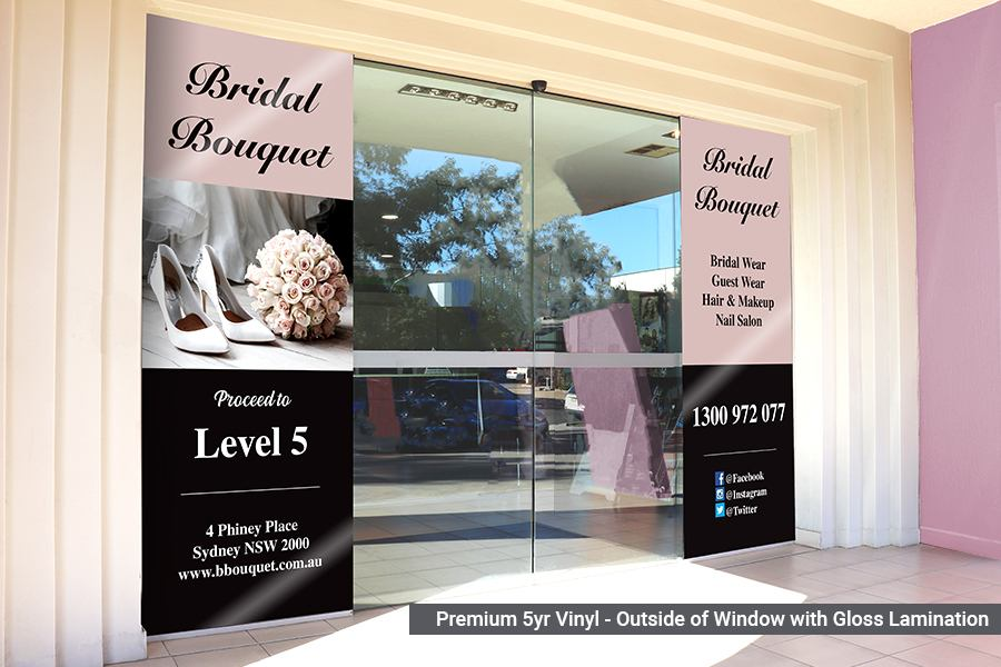 Premium Window Graphics for Businesses