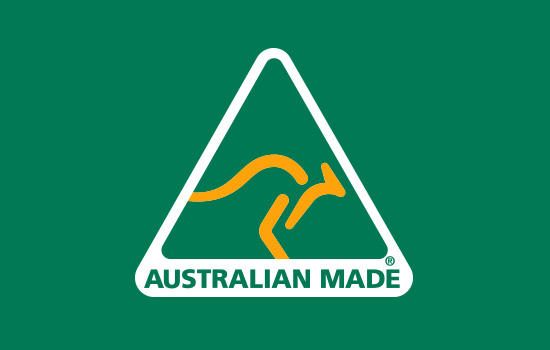 Proudly Australian Made and Certified