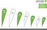 Teardrop Banner Sizes