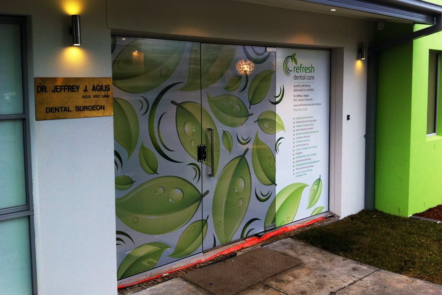One Way Window Film One Way Window Graphics Easy Signs