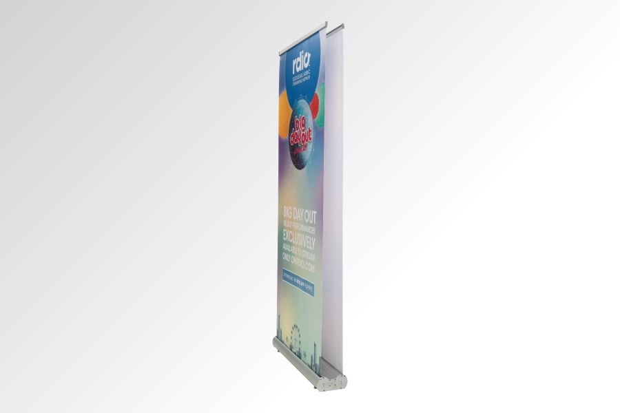 how to make a double sided banner