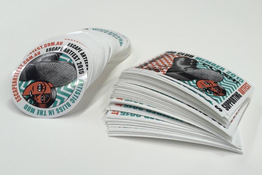 Custom Stickers for Branding
