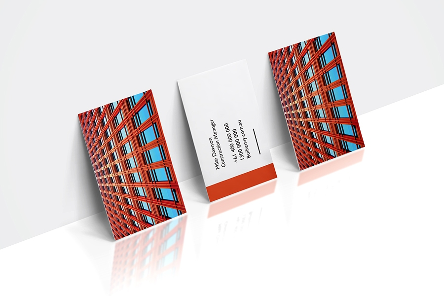 310gsm Essential Full Colour Double Sided Business Cards