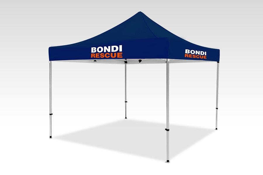 Pop Up Gazebo with Printed Canopy (3m x 3m)