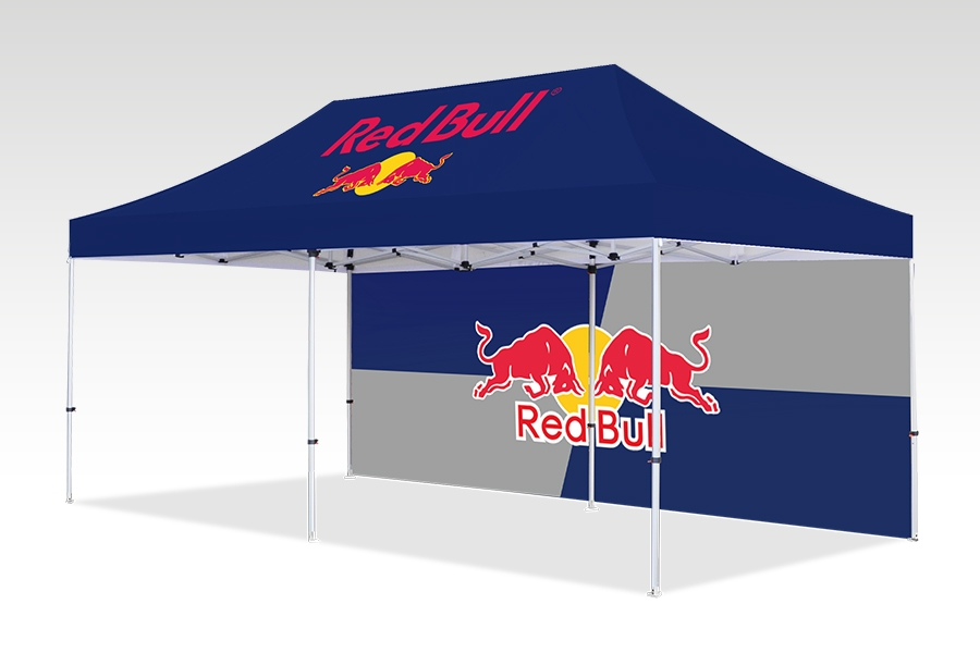 Pop Up Gazebo with Printed Canopy and Walls (6m x 3m)